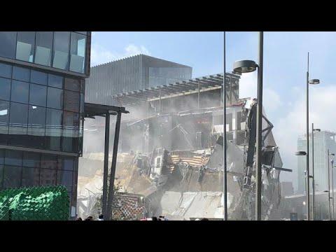 Einkaufszentrum in Mexiko-Stadt eingestürzt