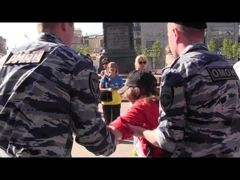 В Москве на Пушкинской площади задержаны шестеро