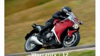 6. 2013 Honda VFR 1200F DCT  Features Specs