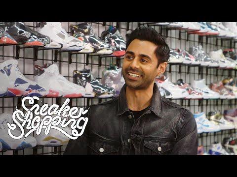 Hasan Minhaj Goes Sneaker Shopping With Complex видео