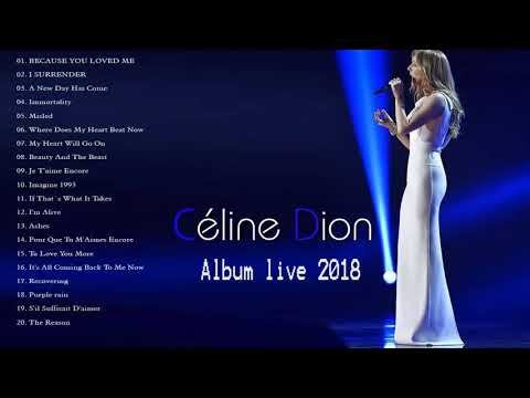 Celine Dion Greatest Hits Full Playlist 2020 - The Very Best Songs Of Celine Dion