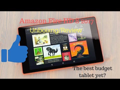 Amazon Fire HD 8 6th Generation 2017 unboxing/review