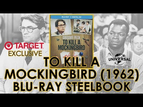 To Kill A Mockingbird (1962) Target Exclusive Blu-ray Steelbook Unboxing | Gregory Peck