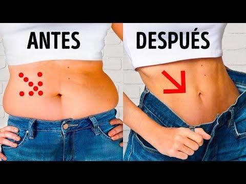 Dietas para adelgazar - Un entrenamiento de 4 minutos para deshacerte de la grasa abdominal sin dietas