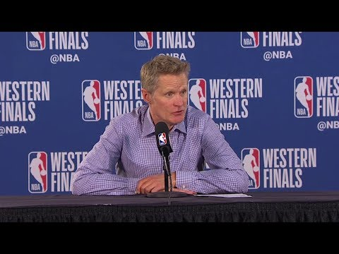Steve Kerr Postgame Interview - Game 4 | Warriors Vs Blazers | 2019 NBA Playoffs