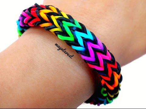 Pulsera de gomitas Zigzag multicolor | Zigzag multicolor bracelet