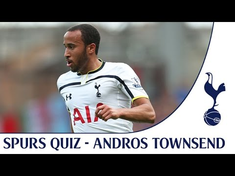 Video: Andros Townsend takes the Spurs quiz