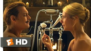 Mortdecai  10 10  Movie Clip   I Deeply Love My Mustache  2015  Hd