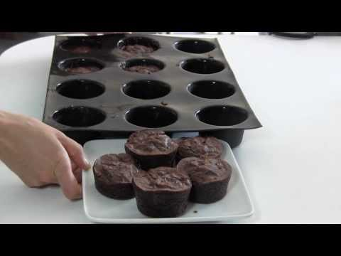 Demarle At Home Straight Muffin Tray: Making Brownies