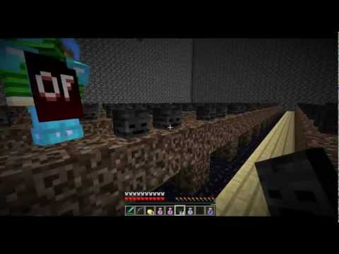Fir4sgamer] mycraft vs 100 witherboss - ماينكرافت قتال