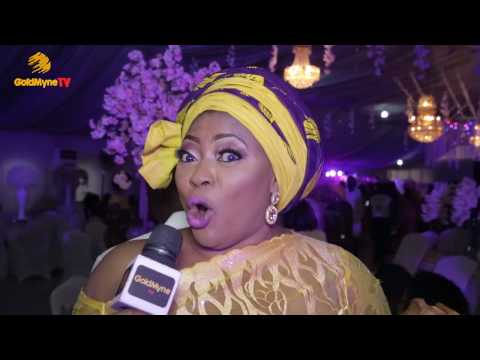 ODUNLADE ADEKOLA, BOBRISKY, IYABO OJO, RUTH KADIRI AT ENIOLA BADMUS' FATHER BURIAL RECEPTION