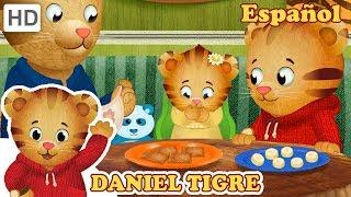 Daniel Tigre en Español 🍪 Merienda con mi Hermana | Videos para Niños