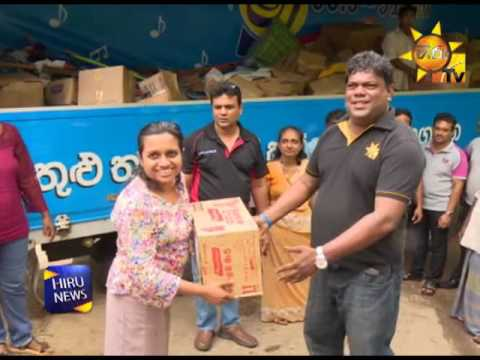 The ninth consignment of aid under Gold FM Cares initiative together with Hiru FM and Hiru TV, heads to Ratnapura; Health camps in Kaduwela