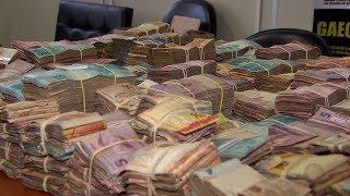 Operação prende 50 membros de facção criminosa e apreende grande quantidade de dinheiro