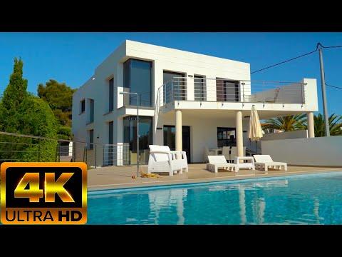 800000€/Недвижимость в Испании/Купить дом у моря, пляж - 1,5км/Виллы с видом на море/Хайтек/Бенисса