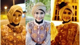 Tutorial Hijab Modern Paris | Tutorial Hijab Pesta Dan Wisuda By Didowardah