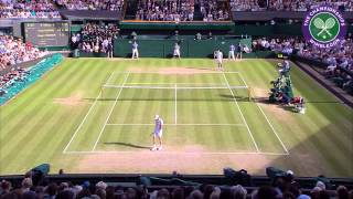Roger Federer and Andy Murray put on a show on Centre Court in their Gentleman's Singles Semi-Final match.