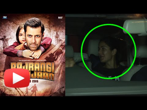 EXCLUSIVE! Katrina Kaif Spotted Watching 'BAJRANGI
