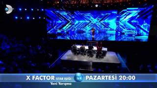 X Factor 1.Bölüm Fragmanı -1
