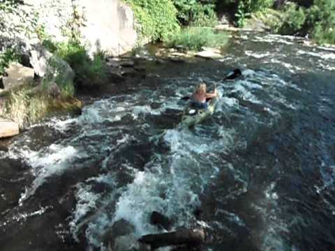 Margie Martin White Water Kayaking