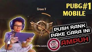 Video CARA MUDAH PUSH RANK KE CROWN - PUBG MOBILE INDONESIA MP3, 3GP, MP4, WEBM, AVI, FLV September 2018