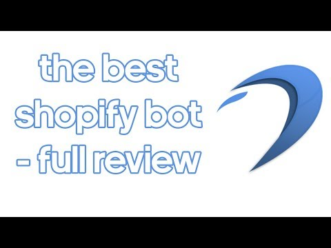 DASHE SHOPIFY BOT - BEST SNEAKER BOTS EP1