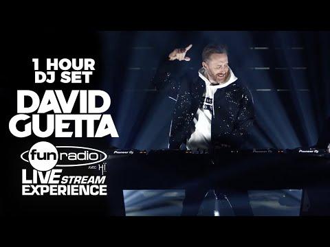 David Guetta live @ Fun Radio Live Stream Experience