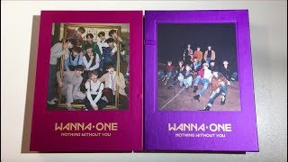 ♡Unboxing Wanna One 워너원 1st Album Repackage 1-1=0 Nothing Without You (Wanna & One Ver.)♡