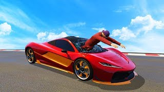 In this video, Slogoman, Kwebbelkop and Jelly battle it out in one of GTA 5's weirdest races! Will they reach the end? Who will win? Be sure to watch till the end of these Grand Theft Auto 5 funny moments to see who is victorious. Leave a like if you want to see more!• TWITTER - @Slogomanify https://twitter.com/slogomanify• INSTAGRAM - @Slogomanify http://instagram.com/slogomanify• FACEBOOK - https://www.facebook.com/slogomanify• SNAPCHAT - slogomanify• MERCHANDISE - http://slogoman.com• MY CAPTURE CARD - http://e.lga.to/slogo• MY FRIENDS!KWEBBELKOP - https://www.youtube.com/user/kwebbelkopJELLY - https://www.youtube.com/user/JellyYT• CreditsIntro:Electro - Swing  Jamie Berry Ft. Octavia Rose - Delighthttps://www.youtube.com/watch?v=aH5aq4V0Ywk&list=UUUHhoftNnYfmFp1jvSavB-QOutro:Electro Swing  Jazzotron - I Can Swing (Grant Lazlo remix)https://www.youtube.com/watch?v=yniX_HGV0wUhttps://soundcloud.com/jamie-berryhttps://www.facebook.com/flakrecshttps://www.youtube.com/watch?v=TYXHv97kbpsEpidemic Sound - http://bit.ly/1UPtCyxIf you enjoyed the video, you should probably go watch some more!