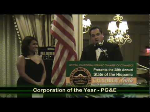 Central California Hispanic Chamber of Commerce Gala Highlights March 2012 By Websovid Media