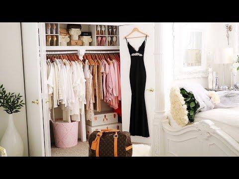 Closet Tour 2018 Glam closet declutter  closet makeover Wardrobe Decorating Ideas Ikea organization (видео)