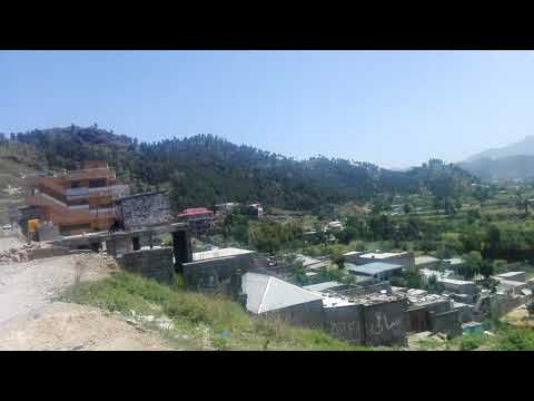 Mansehra City KPK Zero Point Bypass Road Most Beautiful Hill View Pakistan