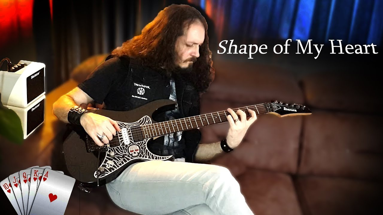 Sting – Shape of My Hearth on Electric Guitar | Cover | İBRAHİM BİRDAL