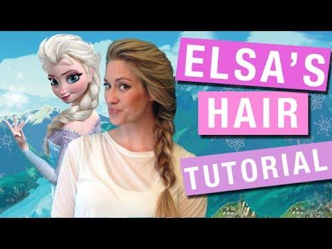 Elsa Hair Tutorial - Braid (Frozen Friday 5)   Rotoscopers