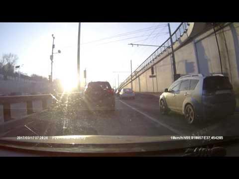 Авария в Москве (с 4,30)