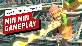 Super Smash Bros. Ultimate: 9 Minutes of Min Min Online Gameplay by IGN