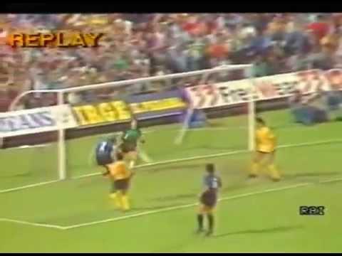 coppa uefa 1986-87: inter - aek atene 32esimi di finale - andata!