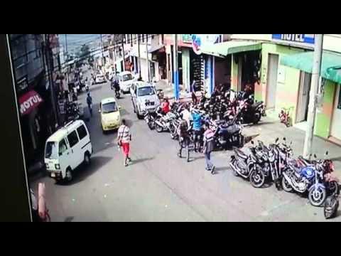 En video caso de sicariato en el Barrio Hipódromo de Ibagué