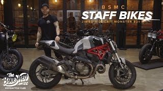 10. Staff Bikes: Jimbo's Ducati Monster 821