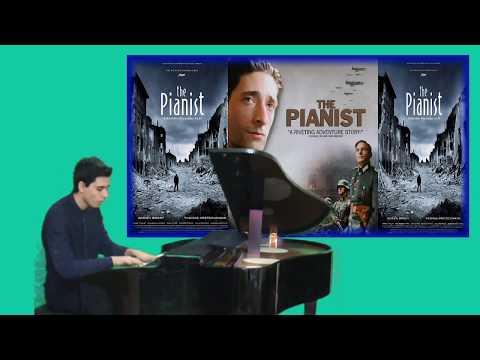 The Pianist Sinema Müziği PİYANİST Film Piyano Solo Resitali Chopin Nocturne
