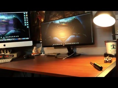 LG Electronics UM57 25UM57 25 Inch Screen Ultra wide LED lit Monitor Unboxing and Review