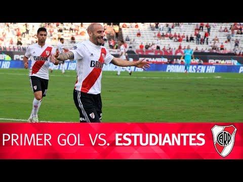 Gol de Javier Pinola vs. Estudiantes de La Plata