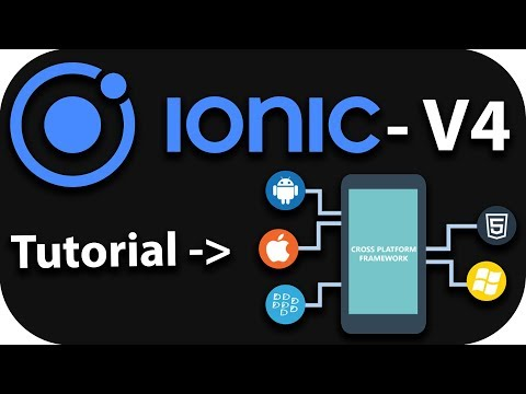 IONIC 4 Mobile App Development  for beginners - Introduction