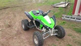7. Got A NEW Toy! KFX450r Race Quad Fuel Injected!!