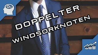 Doppelter Windsorknoten | krawatte binden | windsorknoten