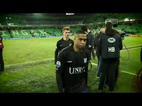 SC Heerenveen bedankt Pele van Anholt