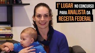 #ConcursoPúblico (30/05/2015) - Letícia Odorizi, 1ª Colocada Concurso Analista RF