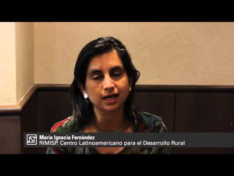 María Ignacia Fernández. ¿Cuáles son las perspectivas de desarrollo rural?