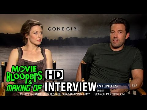 Gone Girl (2014) Ben Affleck and Carrie Coon Interview