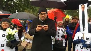 Protest polonii w Melbourne z okazji przyjazdu prezydenta Dudy !!!